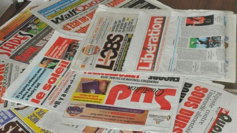 قراءة في الصحف السنغالية الصادرة صباح هذا اليوم الخميس 8نوفمبر 2018 .